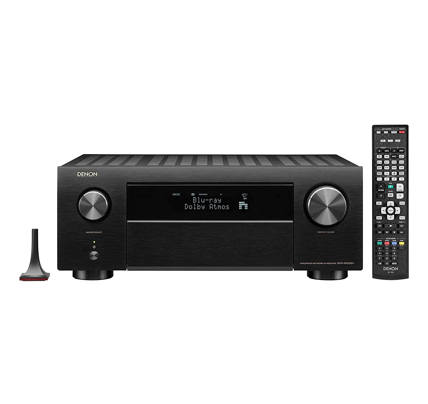 Denon AVRX4500H Denon 9.2 Channel 4K AV Receiver with 3D Audio and Alexa Voice Control, Black (Certified Refurbished)