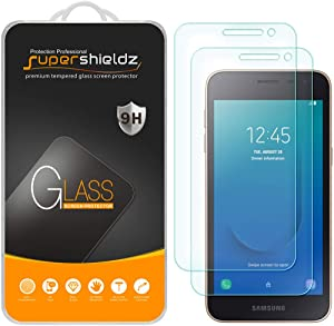 (2 Pack) Supershieldz for Samsung (Galaxy J2 Dash) Tempered Glass Screen Protector, Anti Scratch, Bubble Free