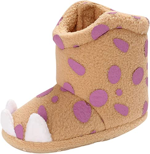 Girl/'s Infant Kids Toddler Children/'s Purple Patent Leather Shoes/& Suede detail