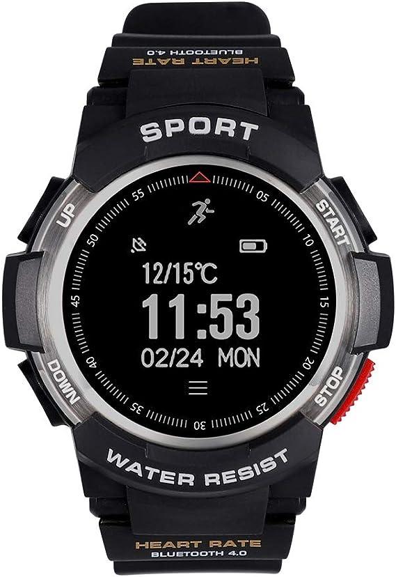 Amazon.com: Reloj inteligente No.1 F6 Smartwatch, IP68 ...