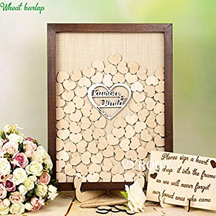 Amazoncom Guestbook Shadow Box Guest Book Wedding Ideas Drop Box