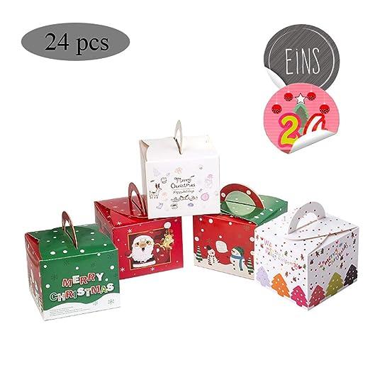 Anyasen Cajas Regalo Navidad Cajas Galletas Cajas de Regalo ...