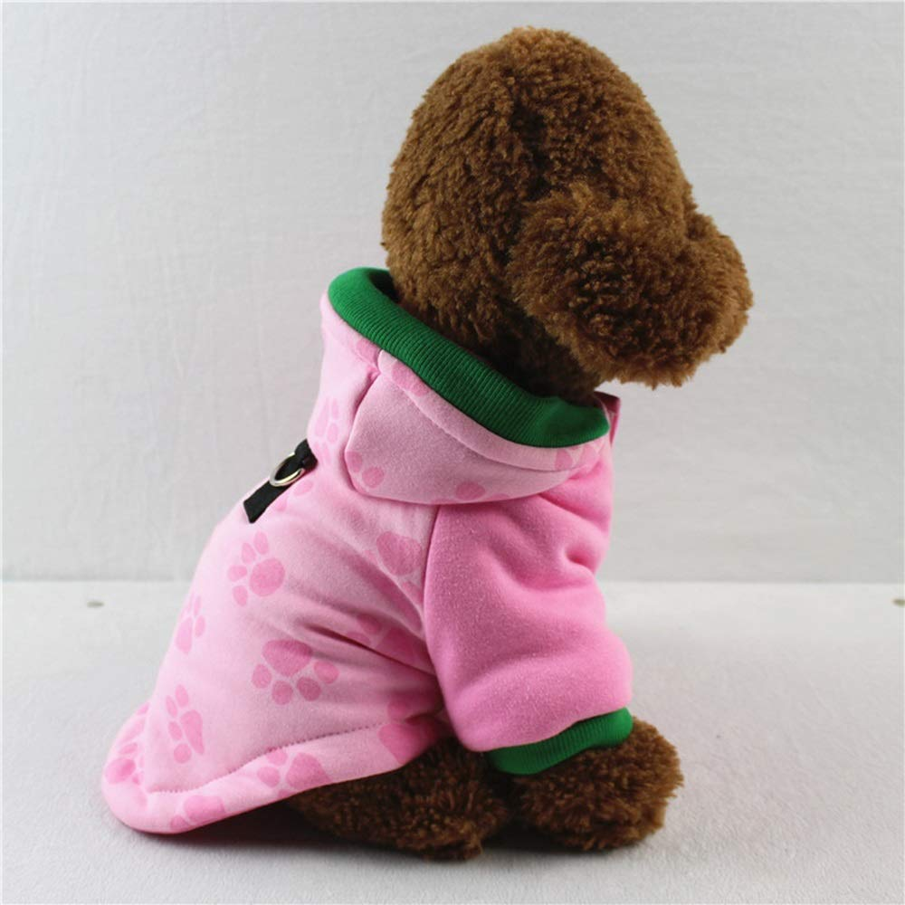 6 M 6 M Huayue Pet Clothes Compact Quilted Winter Dog Autumn and Winter Coat The Movement styleHoodie (color   6, Size   M)