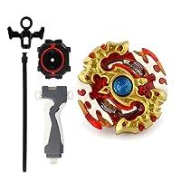 NON MagiDeal Rapidity Fight Master 4D Fight Spriggan Requiem.0.Zt B-100 Ráfaga Spinning Top Juego De Agarre Kids Toy Playset