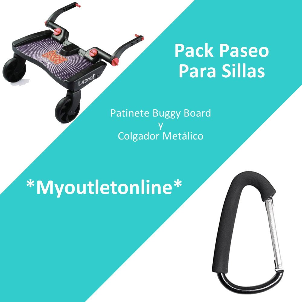 Pack Paseo para sillas: Patinete de Silla Buggy Board y ...