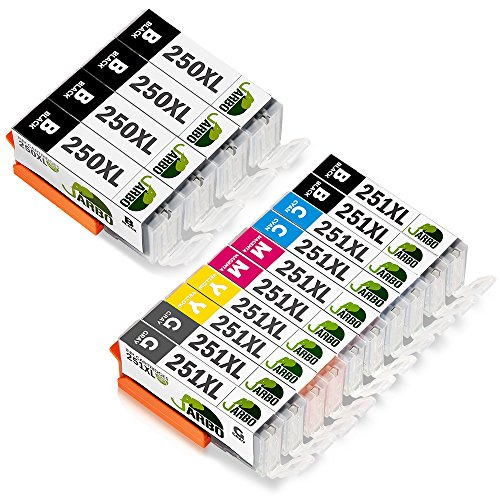 JARBO Replacement PGI 250XL Cartridges Compatible product image