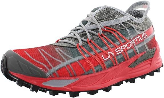 La Sportiva Mutant - Zapatillas de running para mujer, (Arcilla/Hibisco), 37.5/38 EU: Amazon.es: Zapatos y complementos