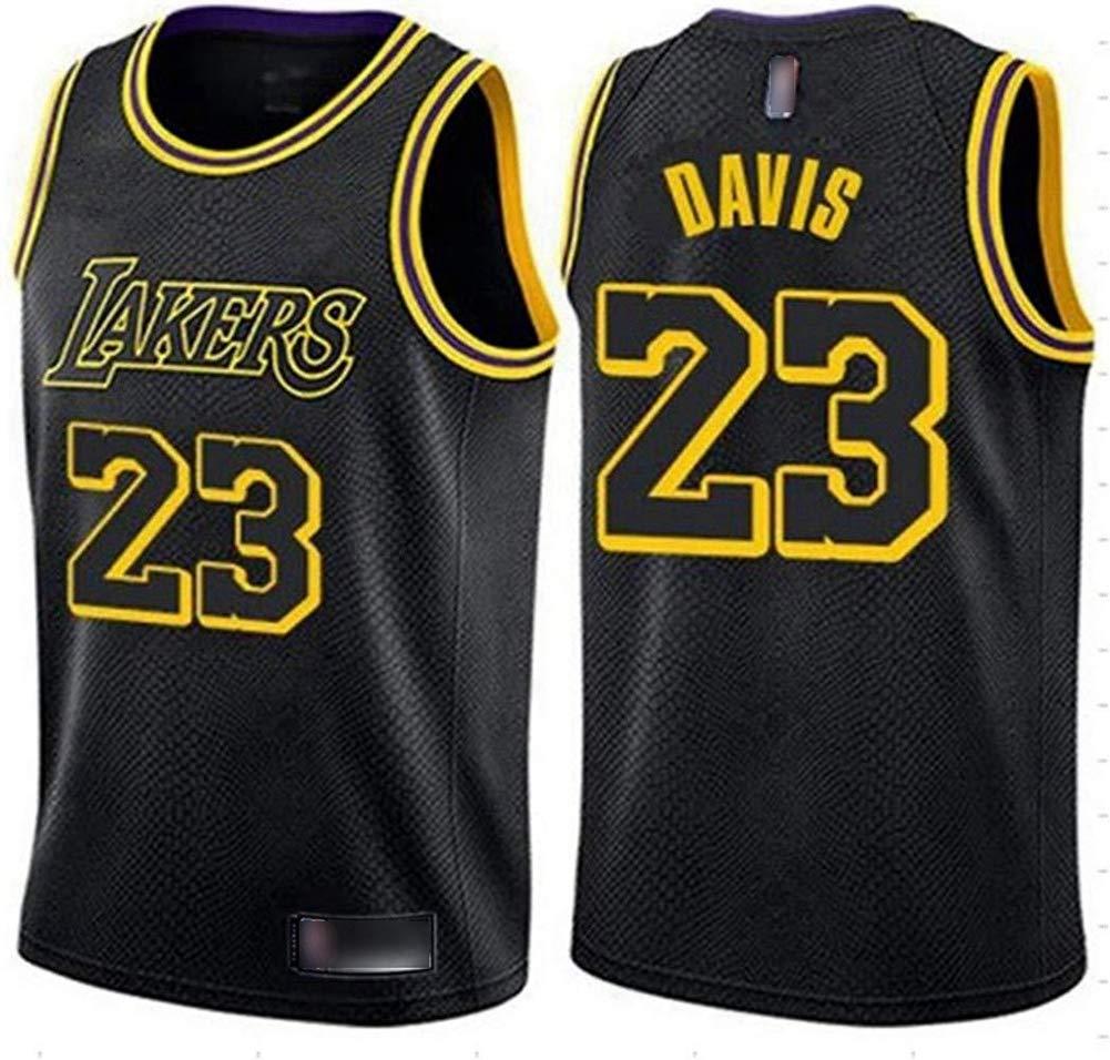 HS-QIAN1 23# Anthony Davis Lakers Camiseta De Baloncesto De La NBA ...