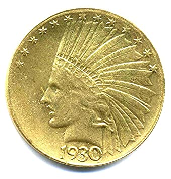Münze Usa 1930 Indian Head 10 Dollars United States Of America