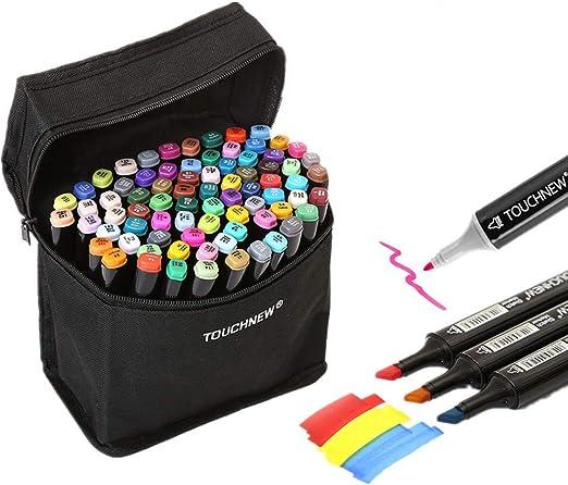 Rotuladores coloridos de doble punta Togood, 40 unidades: Amazon.es: Hogar