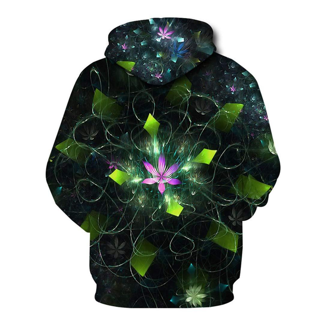 Amazon.com: 3D Funny Floral Hoodies Men Women Winter Long Sleeve Hooded Sweatshirt Harajuku Streetwear Hoody Hoodie Pullover Show M: Clothing