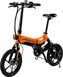Swagtron EB7 Plus Electric Bike w/Quick-Shift Shimano 7-Speed & Removable Battery