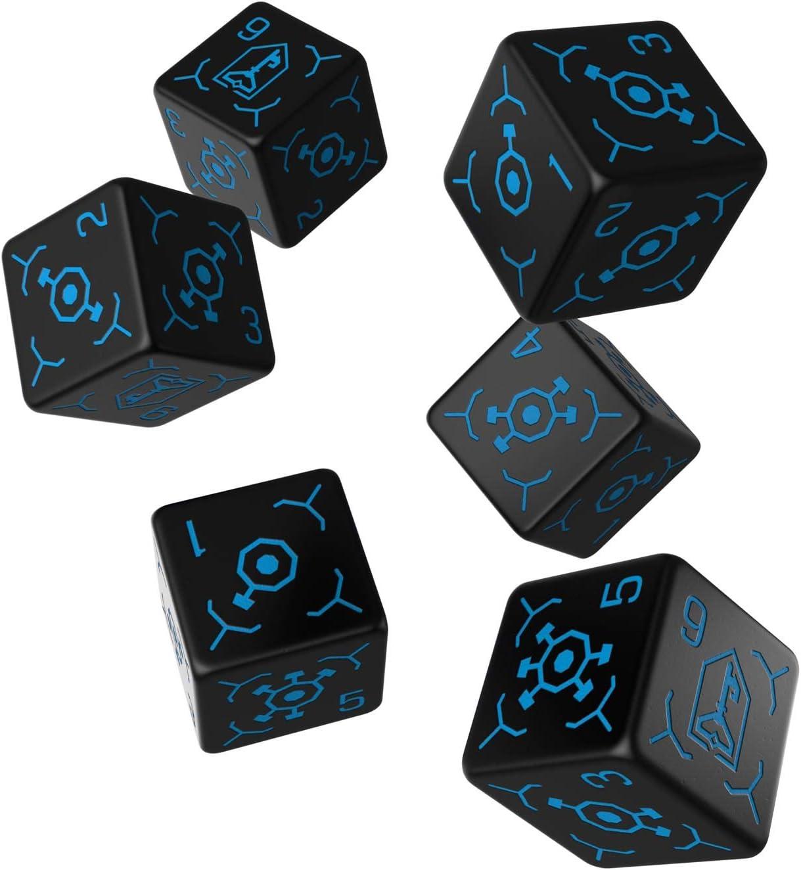 Niantic Labs 6D6 Ingress Dice Set: Resistance: Amazon.es: Juguetes y juegos