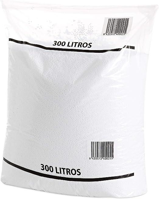 Textilhome - Relleno para Puff de Bolas (Perlas) 300 litros ...