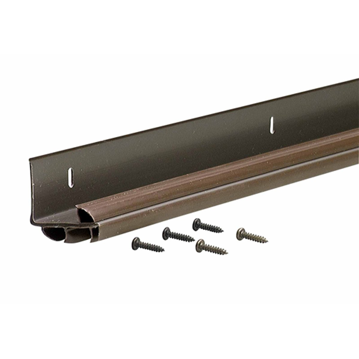 M-D Building Products 82578 36-Inch L-Shaped Replacement Door Bottom with Vinyl Fins, Brown