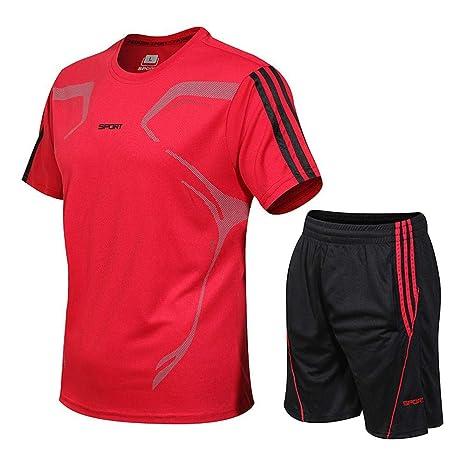 HBSC Camiseta Traje Deportivo Casual de Verano de Dos Piezas ...