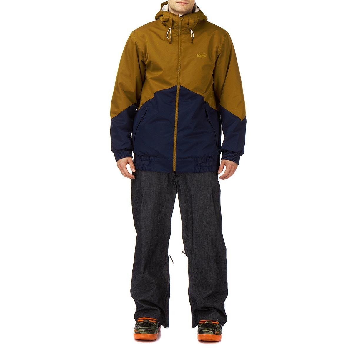 Nike 6.0 Kampai Snowboard Jacke Golden Hops: