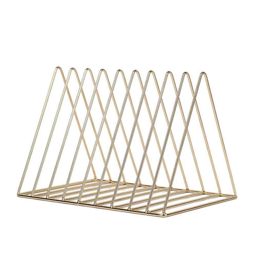 Kentop - Portariviste in Metallo a Forma di Triangolo, con 9 Griglie