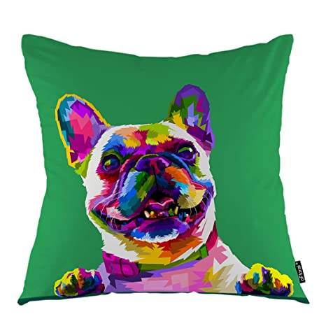 Funda de Almohada para Perro o Cachorro, diseño de Bulldog ...