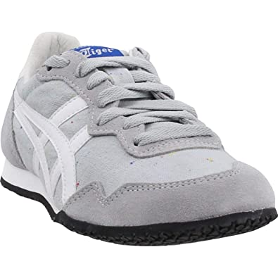 b5316712 Asics Women's Onitsuka Tiger Serrano Shoe - Mid Grey/White 8 B(M) US ...