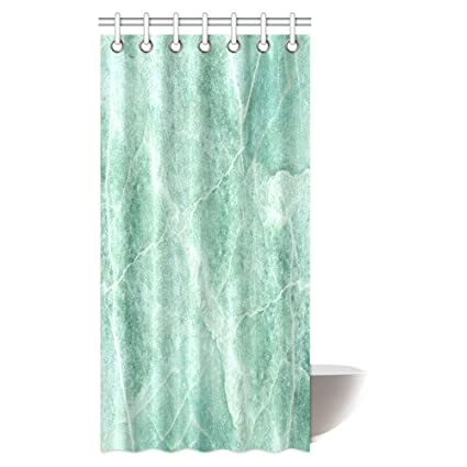 Image Unavailable Not Available For Color INTERESTPRINT Marble Shower Curtain