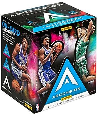 0f1343834f0 2017 18 Panini Ascension NBA Basketball HOBBY box (12 pk) at Amazon s  Sports Collectibles Store