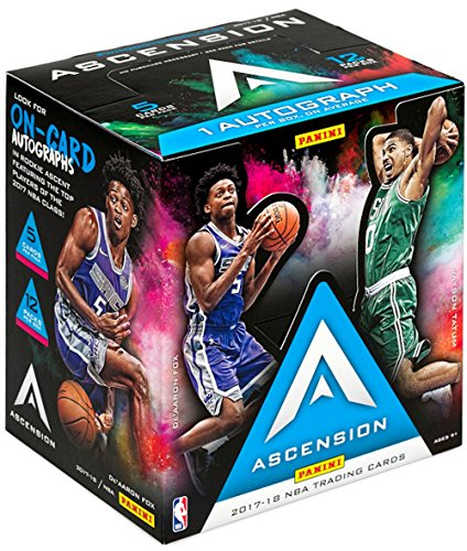 Box Nba Hobby - 2017/18 Panini Ascension NBA Basketball HOBBY box (12 pk)