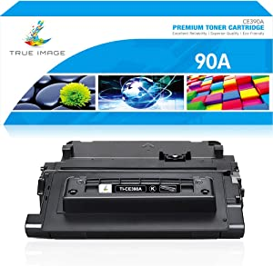 True Image Compatible Toner Cartridge Replacement for HP 90A CE390A 90X CE390X Laserjet Enterprise 600 M602 M601 M4555 M602dn M602n M602x M603dn M603n M4555f M4555h (Black, 1-Pack)