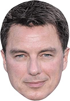 Card Face and Fancy Dress Mask John Barrowman Celebrity Mask