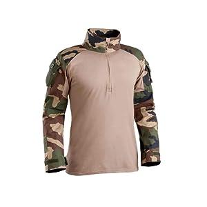 Chemise de combat militaire UBAS Camo CE - TOE
