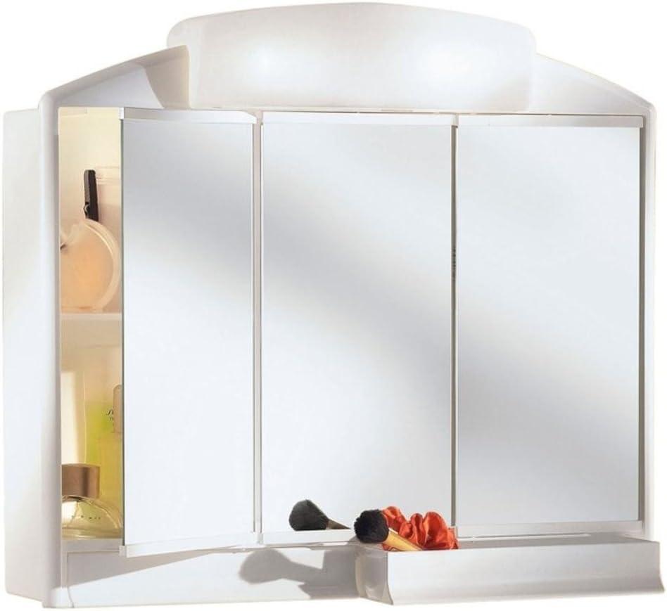 Jokey M256634 - Armario baño 3 Puertas con luz Rando