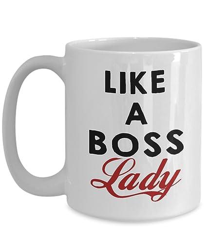 boss mug boss gift like a boss lady funny novelty inspirational office work coffee mugs great