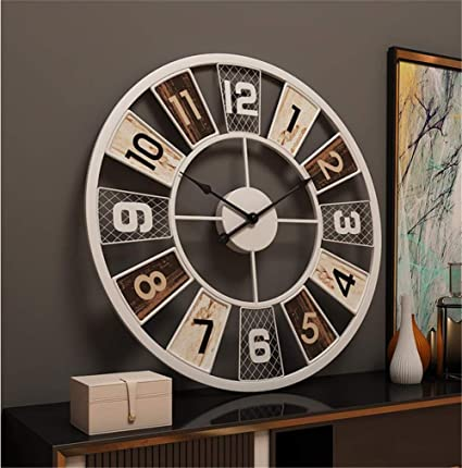 Europa decoración de pared vintage Modernos Breves relojes de pared creativos reloj de pared moderno decoración