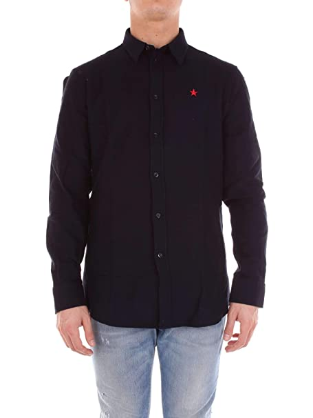 Givenchy BM600U300K Camisa Hombre 40