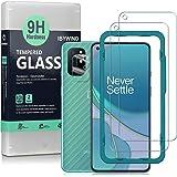 Ibywind Skärmskydd för OnePlus 8T [paket med 2] med kameralinsskydd, bakre kolfiber skinnskydd, inklusive enkelt…