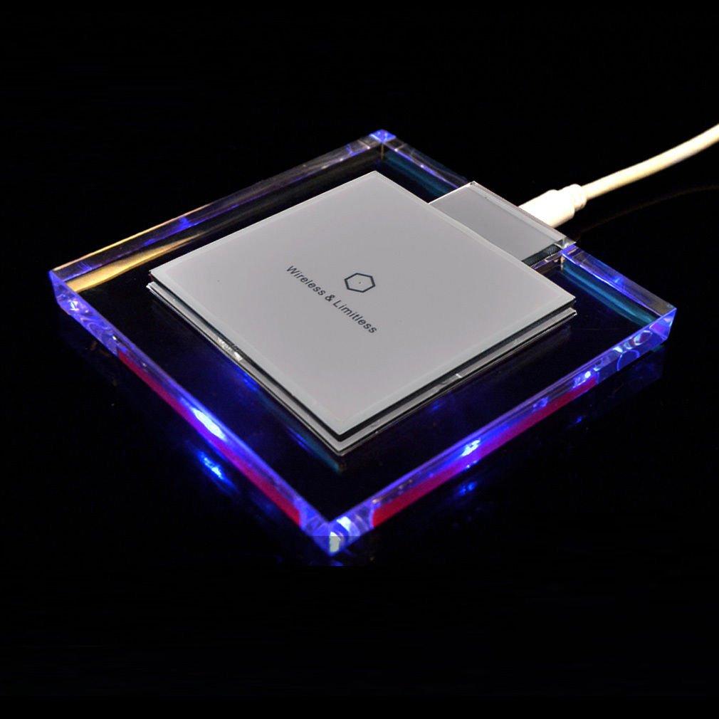Shoptronics24 Carga inductiva Wireless Cargador estación Qi ...
