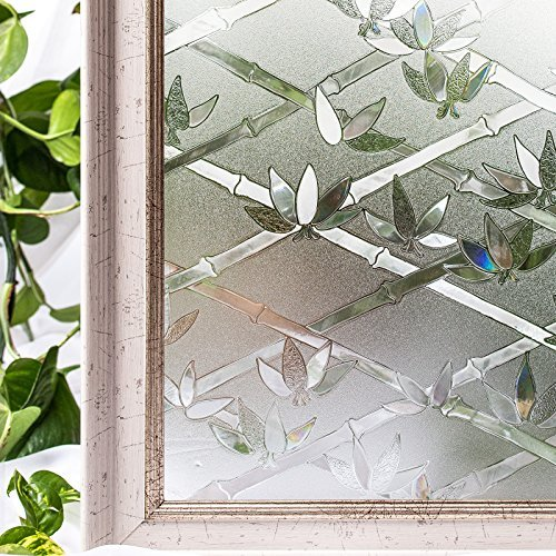 Window Film 3D Ecology Non Toxic Static Decoration For UV Rejection Heat Control Energy Saving Privacy Glass Stickers35.4x78.7 Inches [並行輸入品] B079VPQCVF
