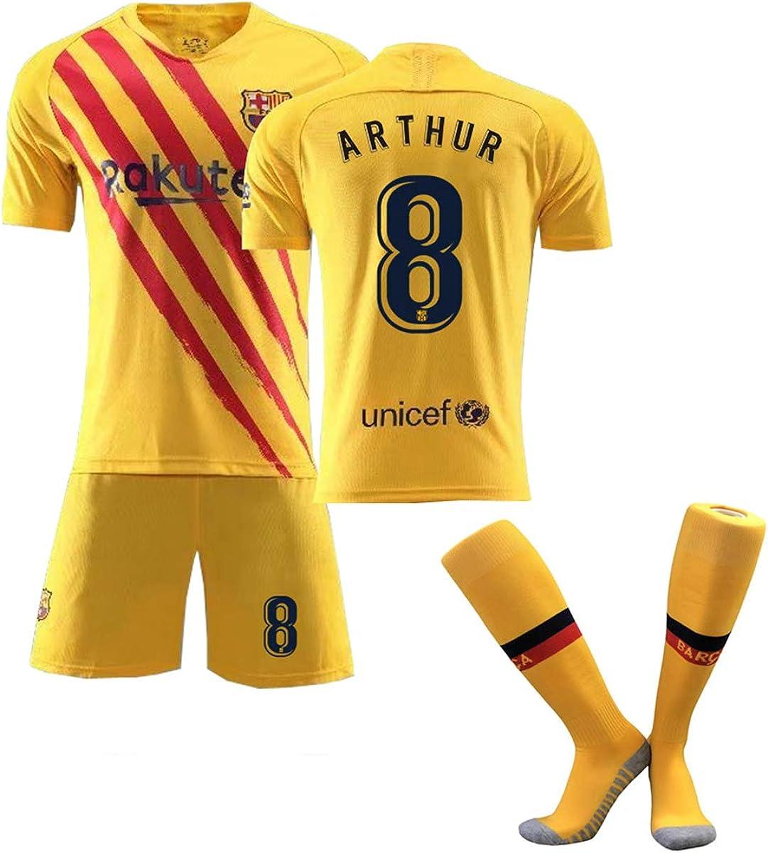Amazon Com Zgdgg Men S Fc Barcelona 2020 2021 T Shirt Set Gift Mens Short Fans Loungewear Clothing