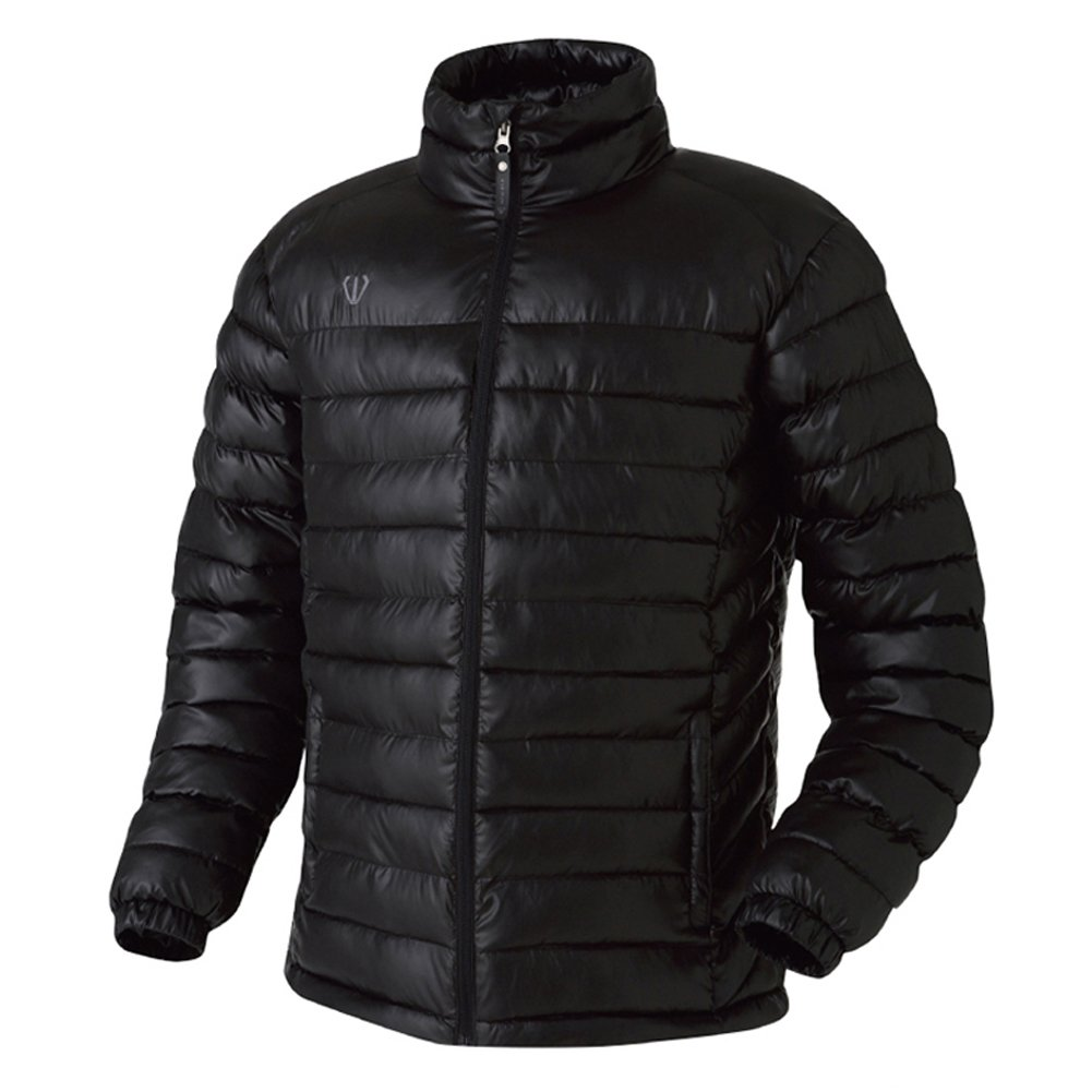FUERZA Mens Winter Down Wellon Lightweight Winter Jacket - Black FZX-21973