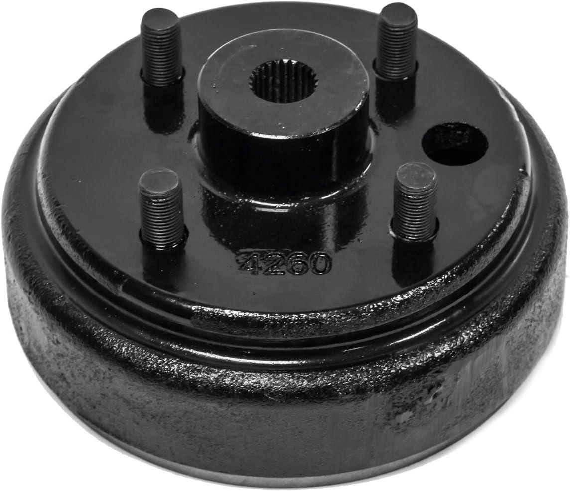B07L4ZKWH3 (2) Brake Hub Drum Compatible with EZGO 1982 Up 4 Cycle Golf Carts 17082-G2, 17298-G1 & 19186-G1 61tSB2B0QmAL