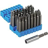 Silverline 456967 - Puntas para atornillador, 33 pzas