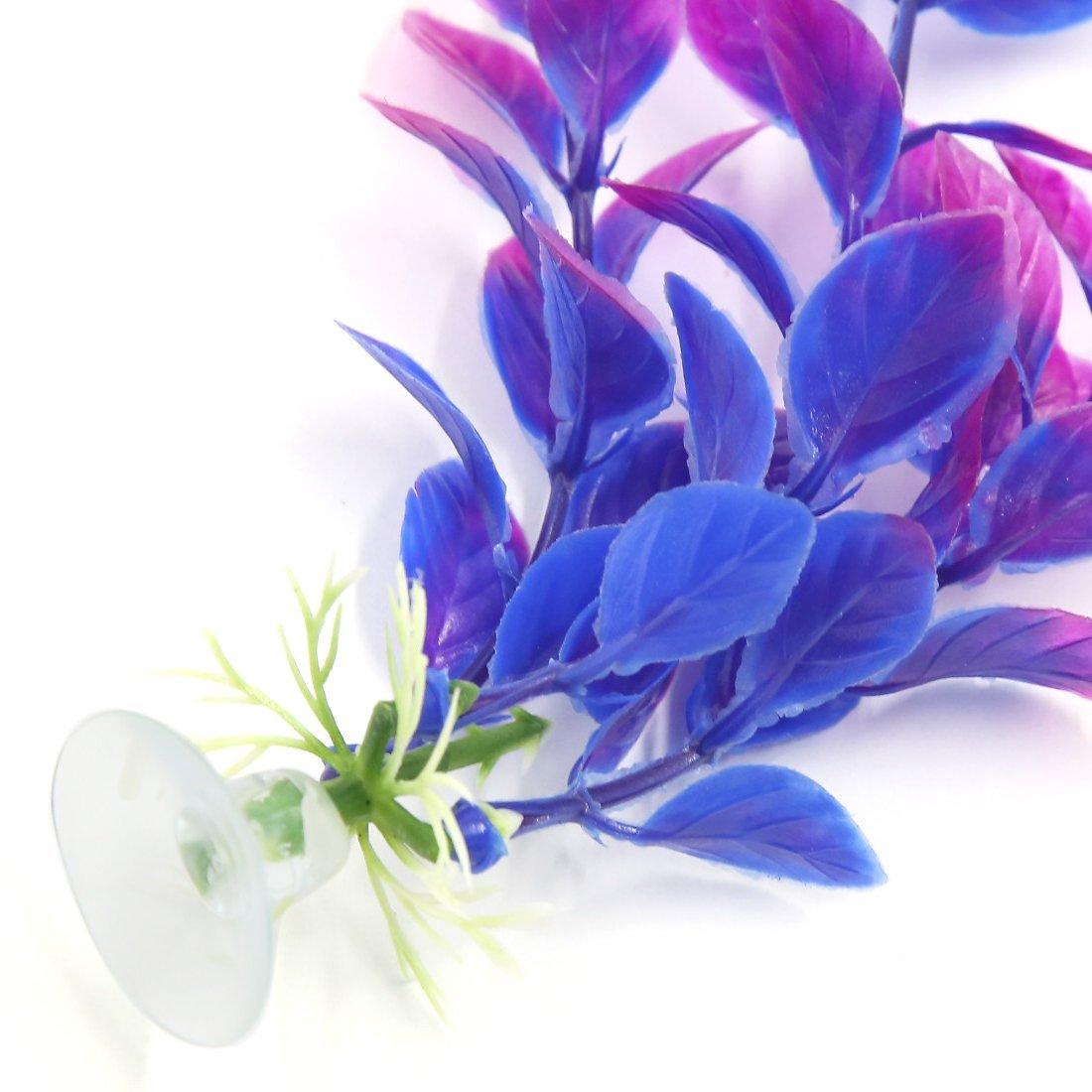 Amazon.com : eDealMax a16071400ux0502 6 pedazo planta Decoración del ornamento de plástico acuario Con ventosa : Pet Supplies