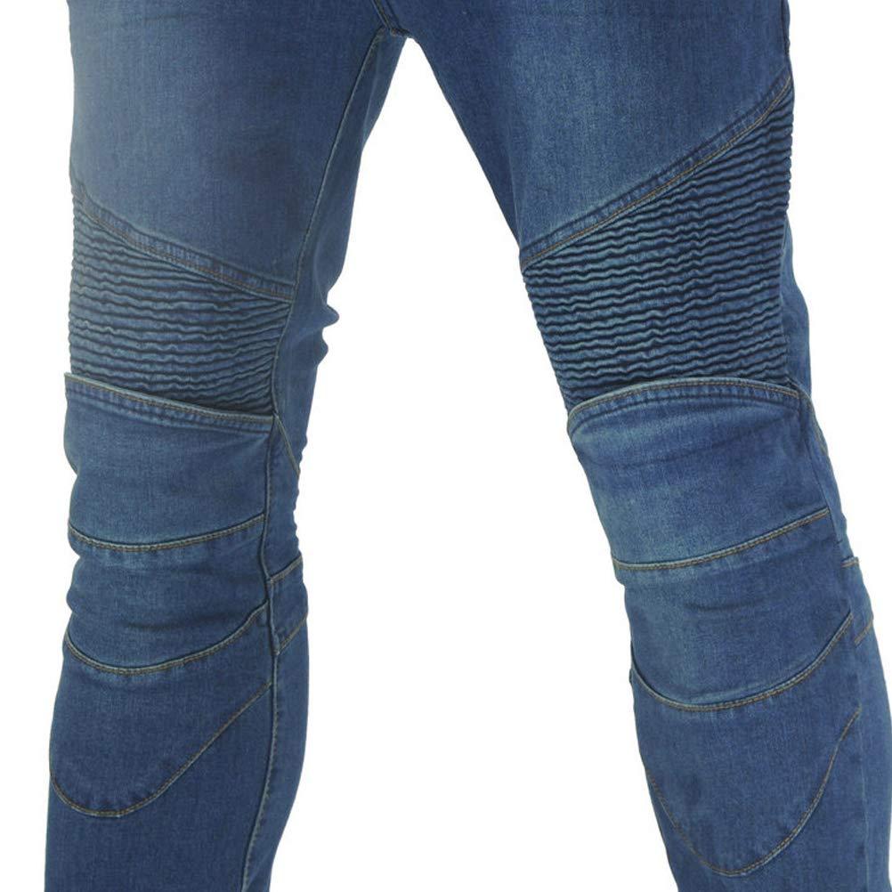 Amazon.com: Pantalones vaqueros de motocicleta para ciclismo ...