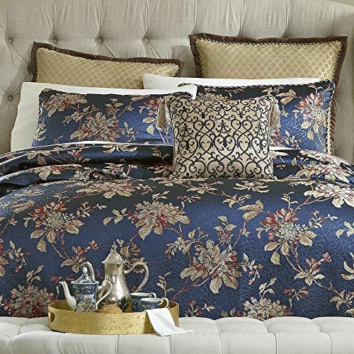 Croscill Calice 4-Pc. Queen Comforter Set in Blue ()