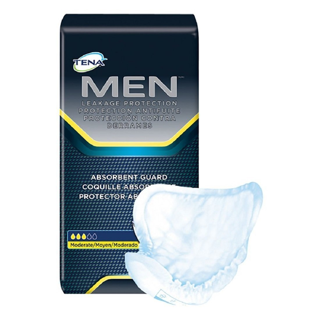 Tena 50600 For Men Moderate/Light Pads 120/Case product image