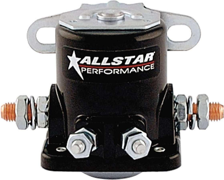 Allstar Performance ALL76203-10 Starter Solenoid Black , Pack of 10