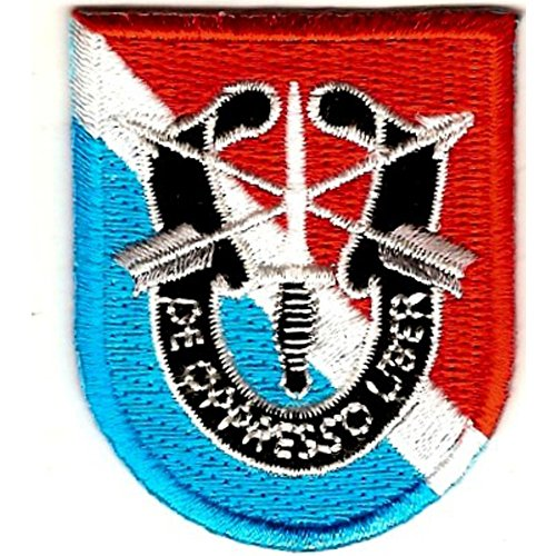 - 11th Special Forces Group Flash Patch With Crest