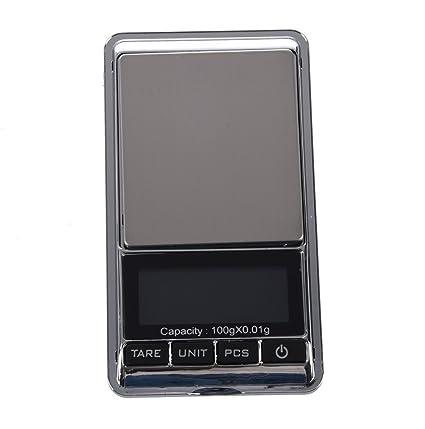 SODIAL(R) Mini Escala digital Escala de bolsillo dual para cocina joyeria