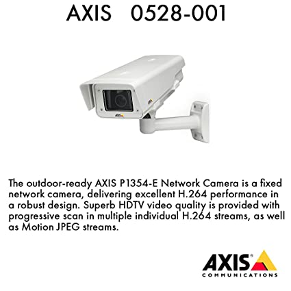 NEW DRIVERS: AXIS P1354 CAMERA