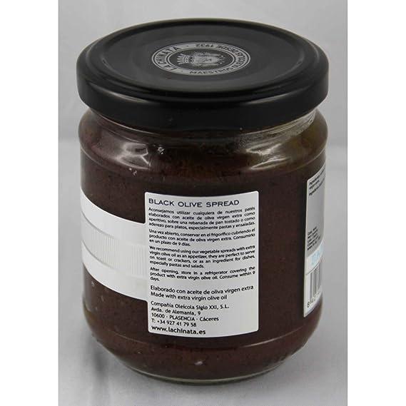 Paté de Aceitunas Negras (180 g) - La Chinata: Amazon.es: Alimentación y bebidas